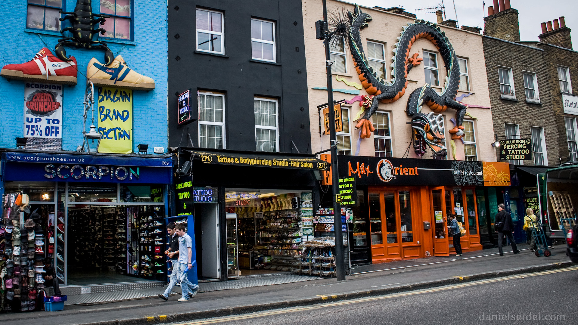What is the best day to go to Camden Market?