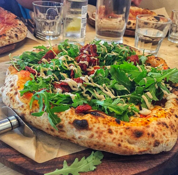 Purezza Vegan Pizza Restaurant In Camden Town Camden Town