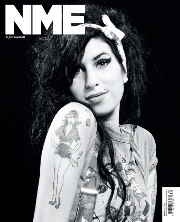 NME Amy Winehouse Cover