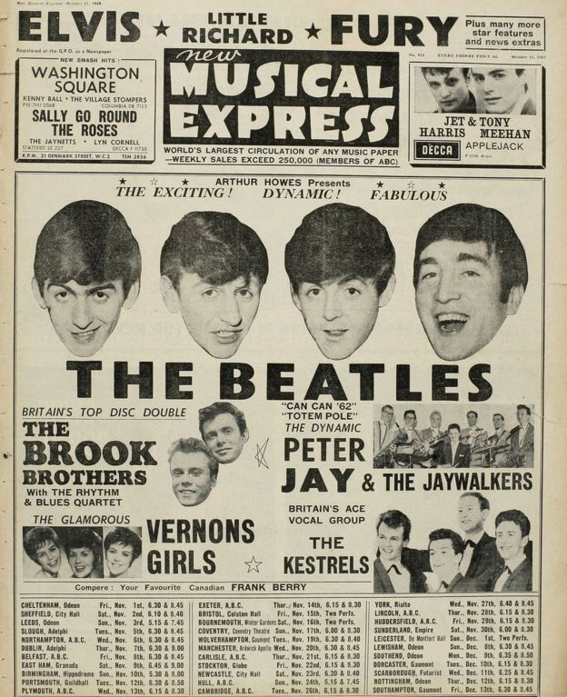 NME Beatles Cover