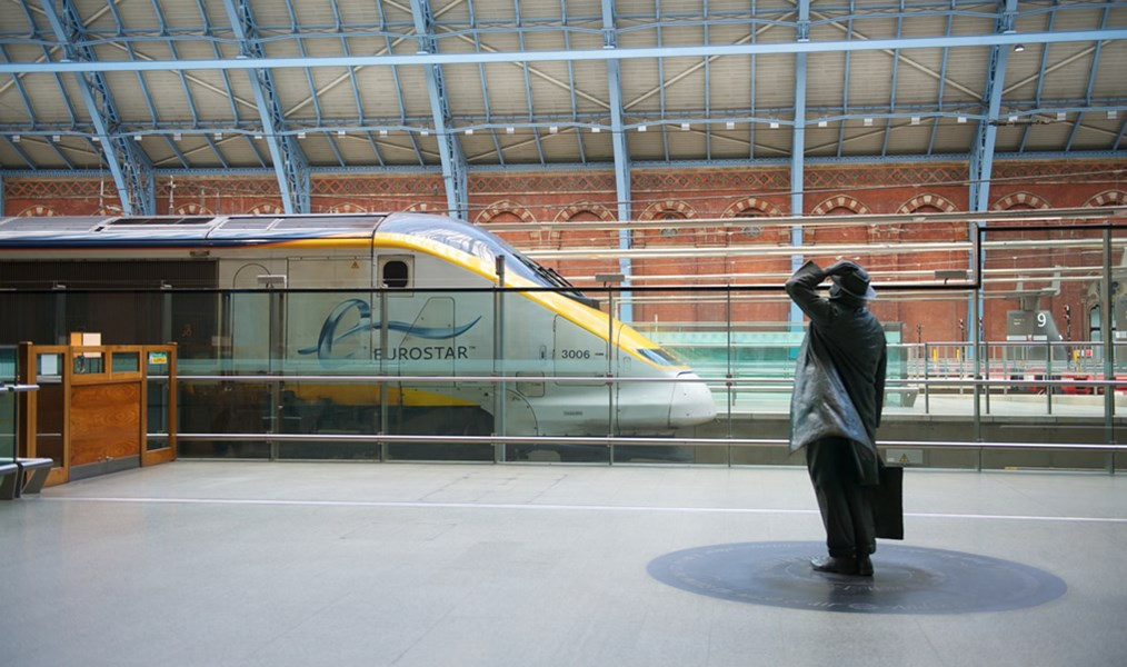 Eurostar St Pancras International
