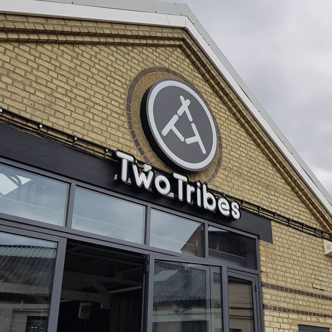 Two Tribes Brewery Building