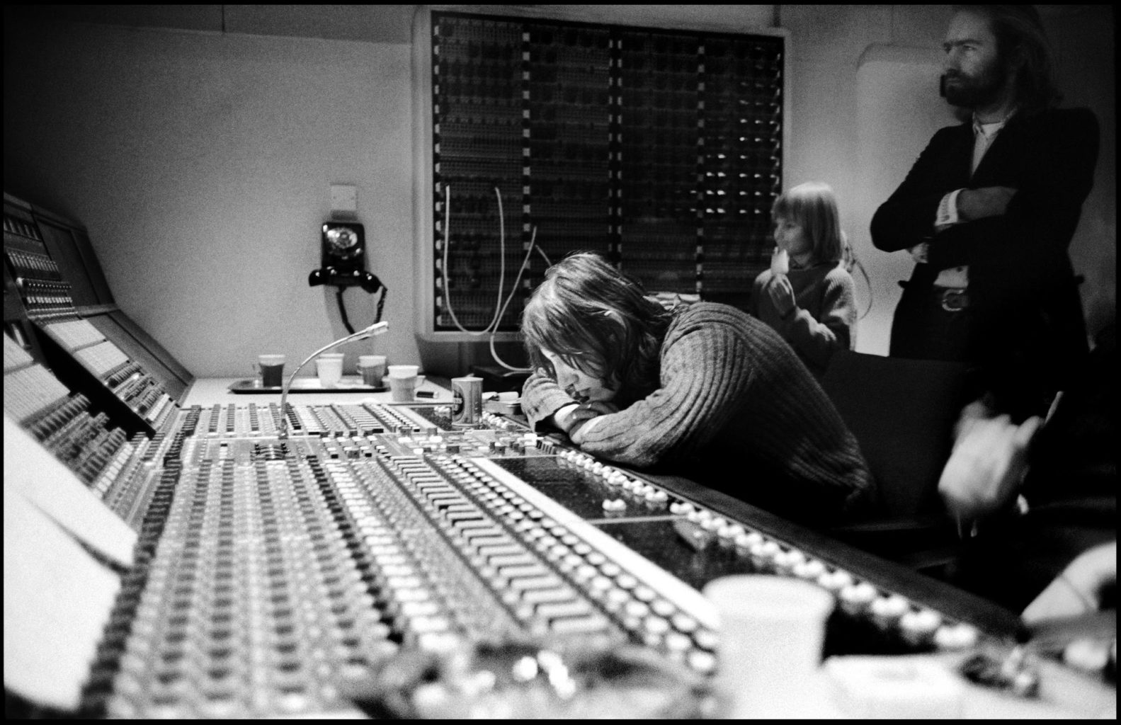 Pink Floyd recording at Abbey Road