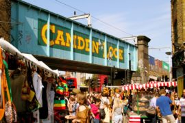 Camden Market voted one of the 7 Urban Wonders of the World 2018