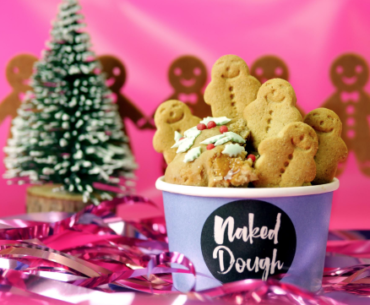 naked dough gingerbread