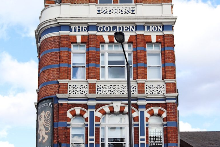 Golden Lion front