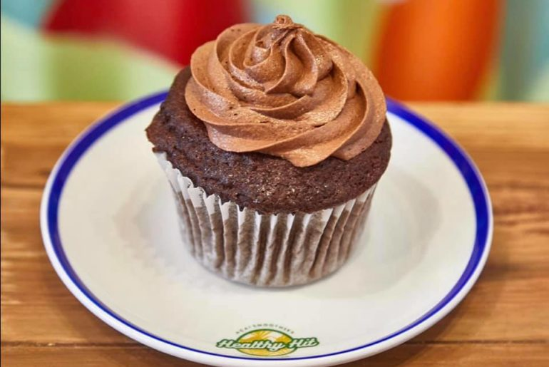 healthy hit cupcake