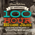 100HR BIRTHDAY blue kitchen