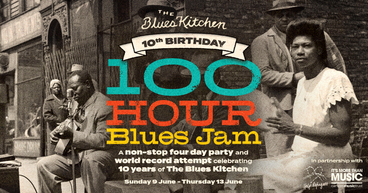 Break a world record at Blues Kitchen!