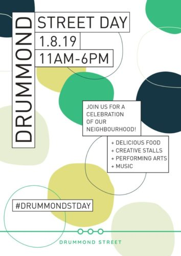 Drummond St Day poster