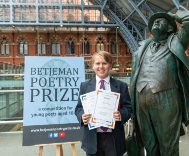 St Pancras poetry winner